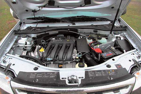 Бензиновый двигатель Рено Дастер