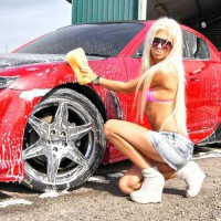 Всем бы так машины мыли)