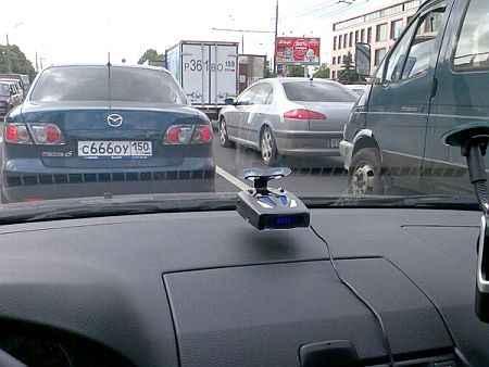 установка антирадара в автомобиле