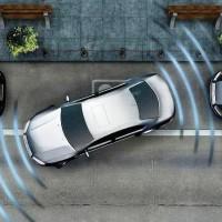 Датчики парктроника излучают волны, которые отражаются от препятствия и, возвращаясь обратно, предупреждают о преграде