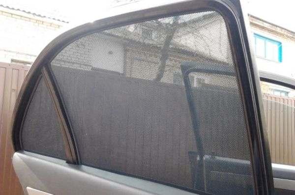 Каркасные автомобильные шторки