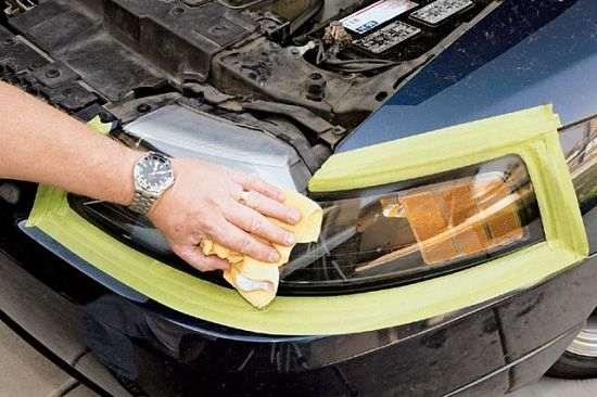 Полировка фар своими руками - как отполировать стекла фар ( фото)