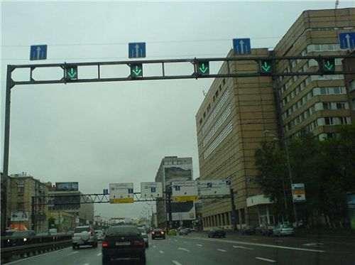 Реверсивные сигналы светофоров