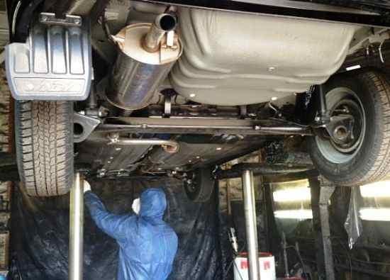 работы  по защите кузова автомобиля