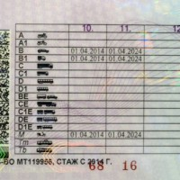 С 1 апреля 2014 года в России началась выдача новых водительских удостоверений с новыми категориями
