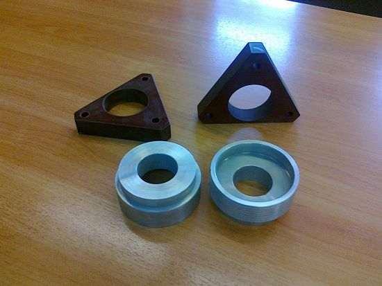 текстолитовые и металлические анодированные проставки