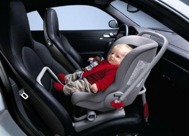 Детское кресло - автолюлька