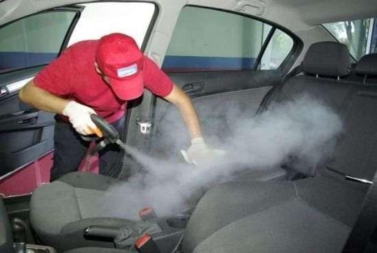 хамчистка салона паровым пылесосом