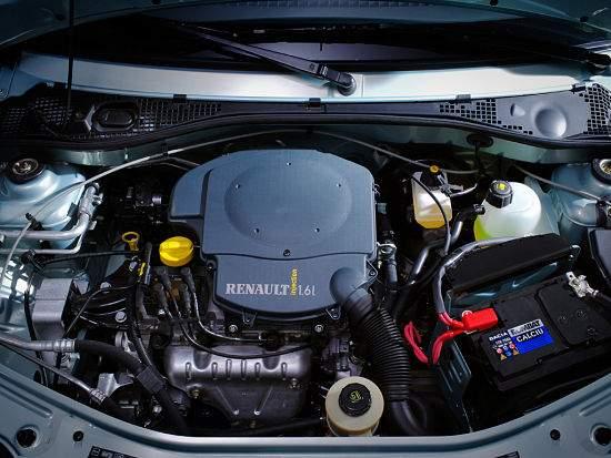 Бензиновый двигатель Renault Logan
