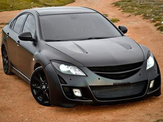 Тюнинговая Mazda 6 второго поколения