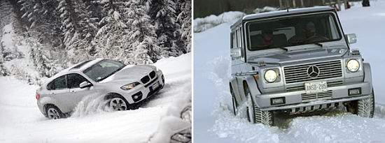 Трудности при управление автомобилем зимой