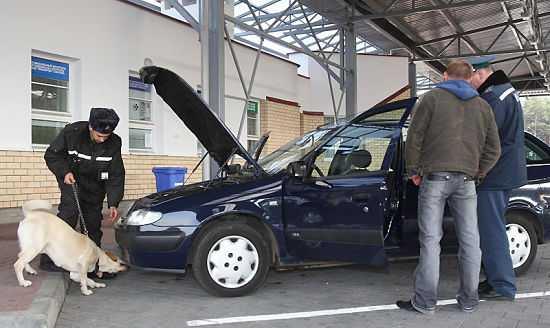 Обыск автомобиля