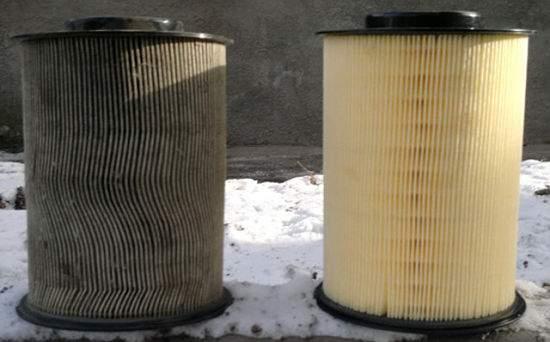цилиндрический воздушный фильтр