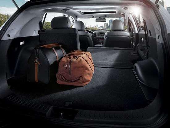Вместительный багажник Kia Sportage