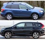 Honda CR-V или Subaru Forester — сравнительный обзор