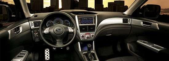 Интерьер Subaru Forester