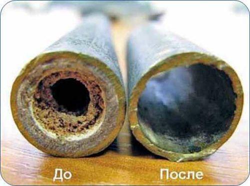 отложения на трубопроводах