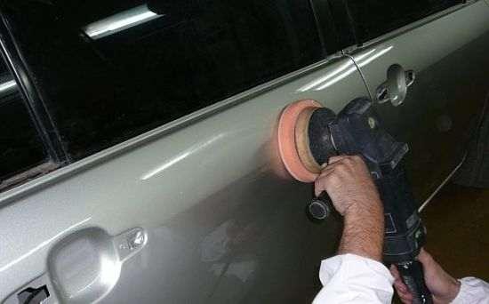 Фото полировки кузова автомобиля своими руками