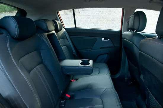 Задние сидения Kia Sportage
