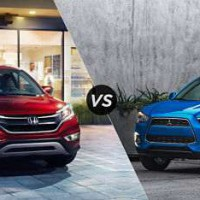 Honda CR-V и Mitsubishi Outlander