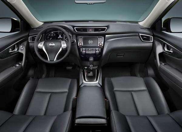 Интерьер Nissan X-Trail