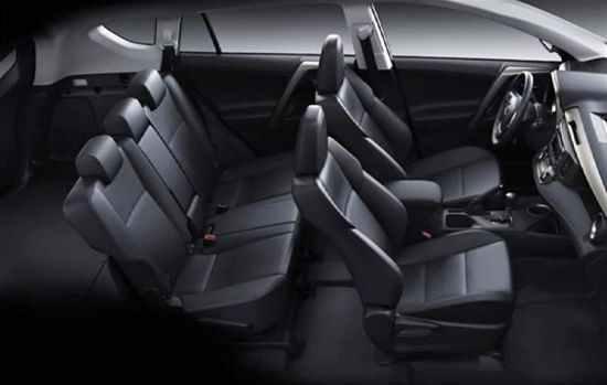 Toyota-RAV4 сидения