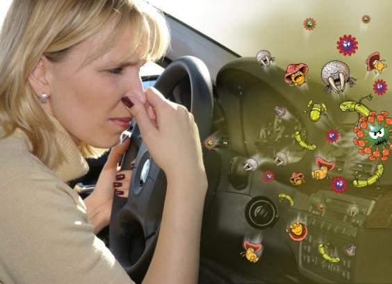 Уничтожение запаха в авто