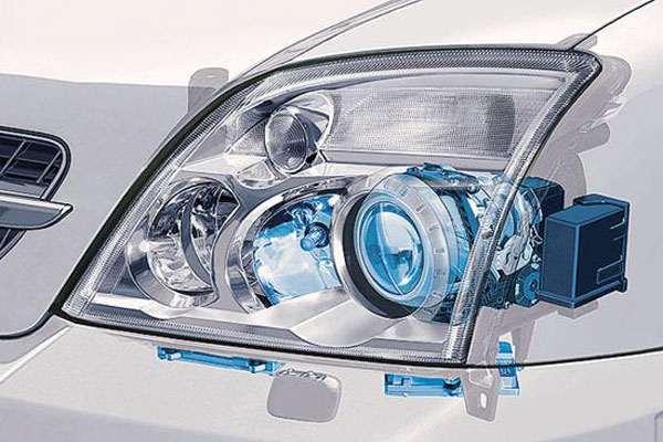Галогеновая автомобильная  лампа