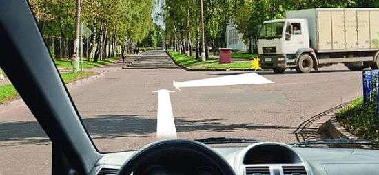 Помеха справа и пересечение путей