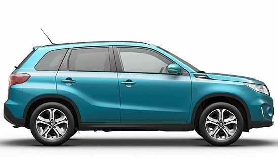 Suzuki Grand Vitara в профиль