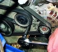 Ремень привода генератора. Виды, проблемы с ним и замена