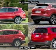 Сравнение Toyota RAV4 и Nissan Qashqai