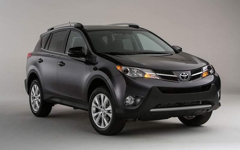 Toyota RAV4 внешность