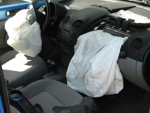 как срабатывают подушки безопасности