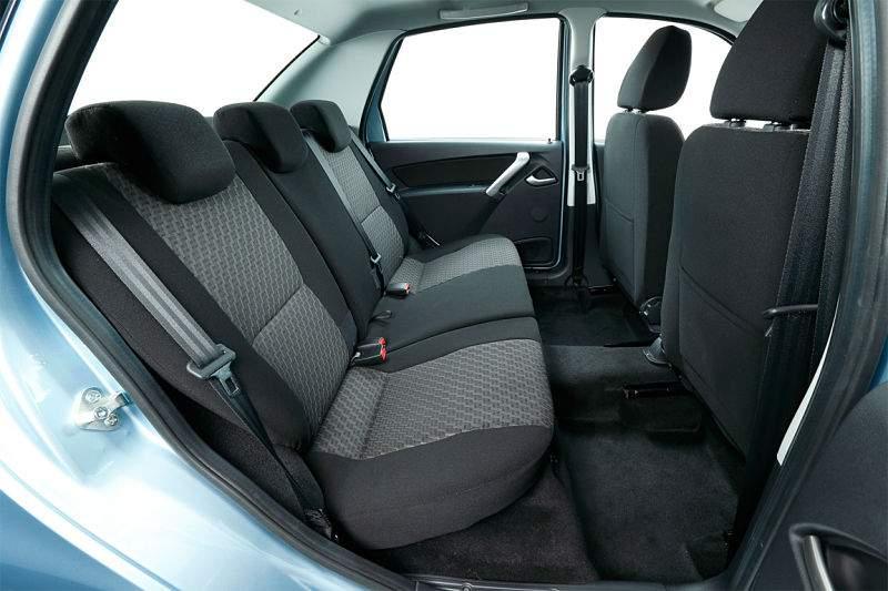 Datsun on-Do  пассажирские места
