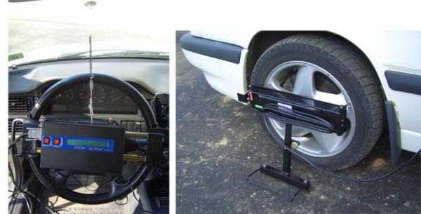 Люфтомер - прибор для измерения суммарного люфта рулевого управления