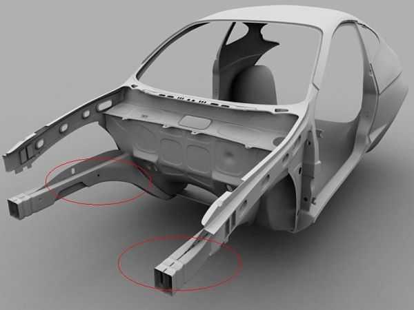 Лонжерон в автомобиле: предназначение, неисправности, замена