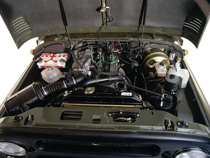УАЗ «Хантер» - дизель 1) Изначально для автомобиля предлагался польский 8-клапанный агрегат «Андория» объемом 2.4 литра, генерирующий 86 «лошадей» при 4000 об/минуту и 183 Нм пиковой тяги при 1800 об/минуту.  2) В 2005 году ему на смену пришел отечественный 2.2-литровый мотор ЗМЗ-51432 с 16-клапанным ГРМ, развивающий 114 сил при 3500 об/минуту и 270 Нм при 1800-2800 об/минуту.  3) И наконец, ставился на «Охотника» китайский вариант F-Diesel 4JB1T на 2.2 литра, отдача которого составляет 92 лошадиные силы при 3600 об/минуту и 200 Нм при 2000 об/минуту.