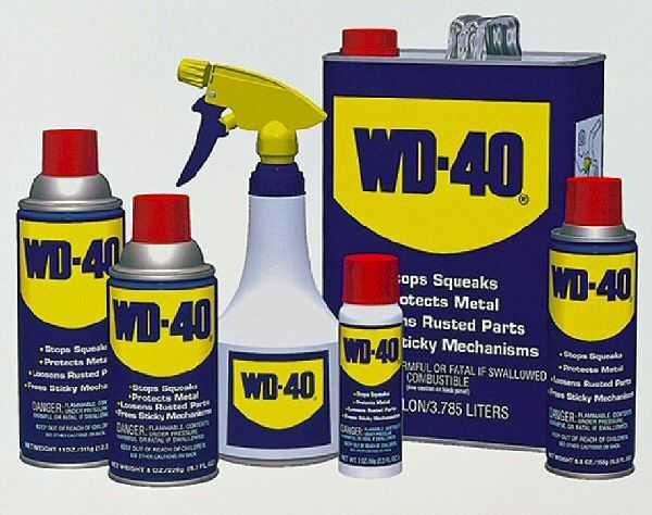 WD-40 ассортименте