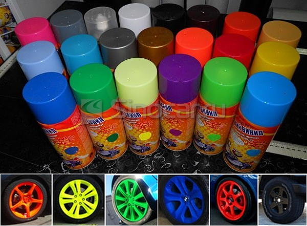 жидкая резина для дисков