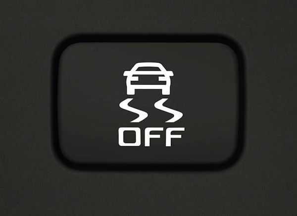 Обозначение TCS на приборной панели автомобиля