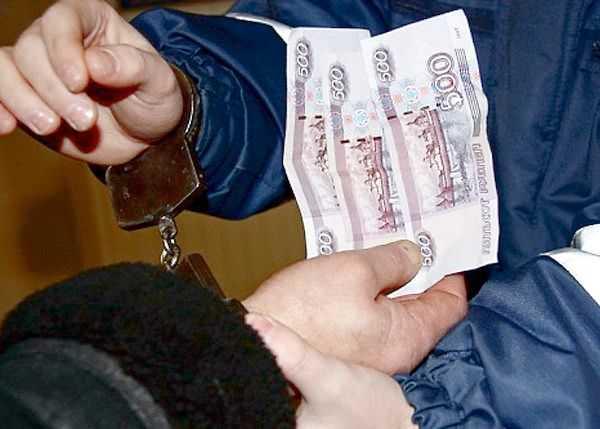 Наказание за дачу взятки сотруднику ГИБДД