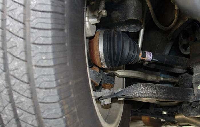 где находится шрус в автомобиле