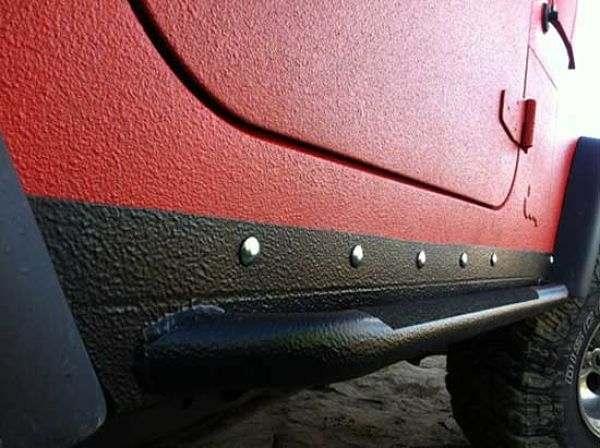 оброботка гравитекс порожков автомобиля
