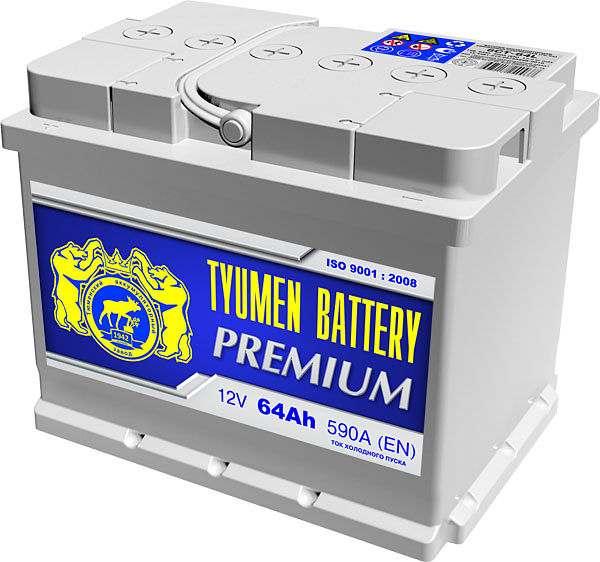 Tyumen Battery Premium 6СТ-64