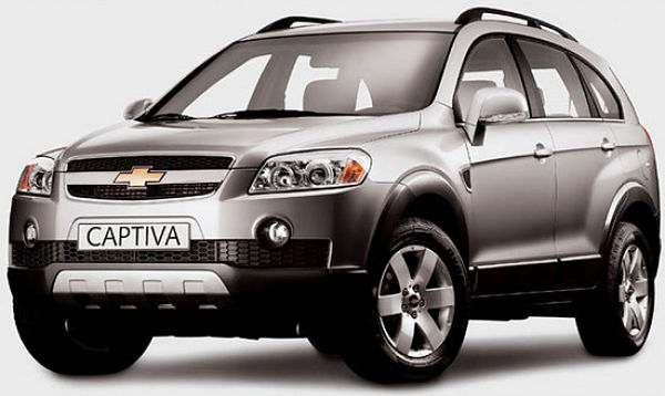 Chevrolet Captiva c пробегом