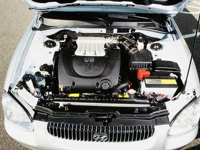 hyundai sonata двигатель