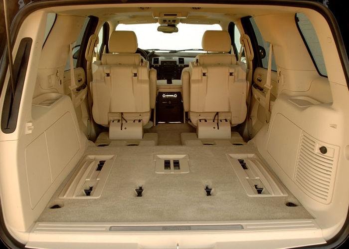 багажник Cadillac Escalade 2012-2013