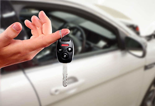 ключ от автомобиля