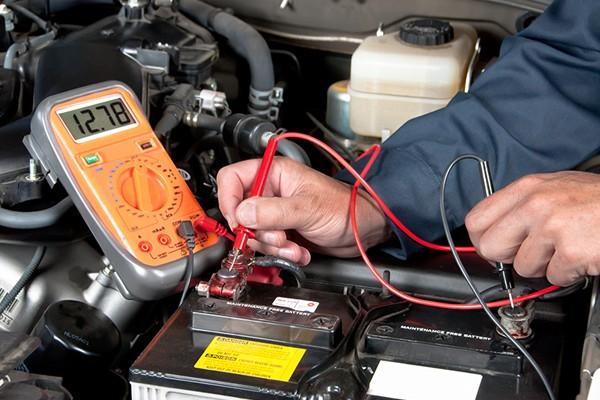 проверка заряда аккумуляторной батареи